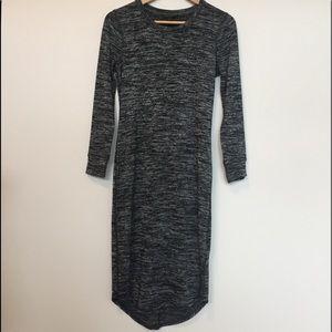Banana Republic Midi Luxe Knit Dress - S Petite